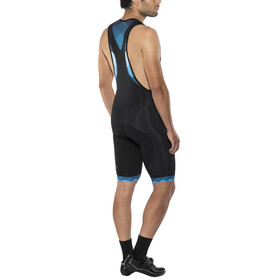 Triple2 Snell Bib Tights Short Men Mykonos Blue
